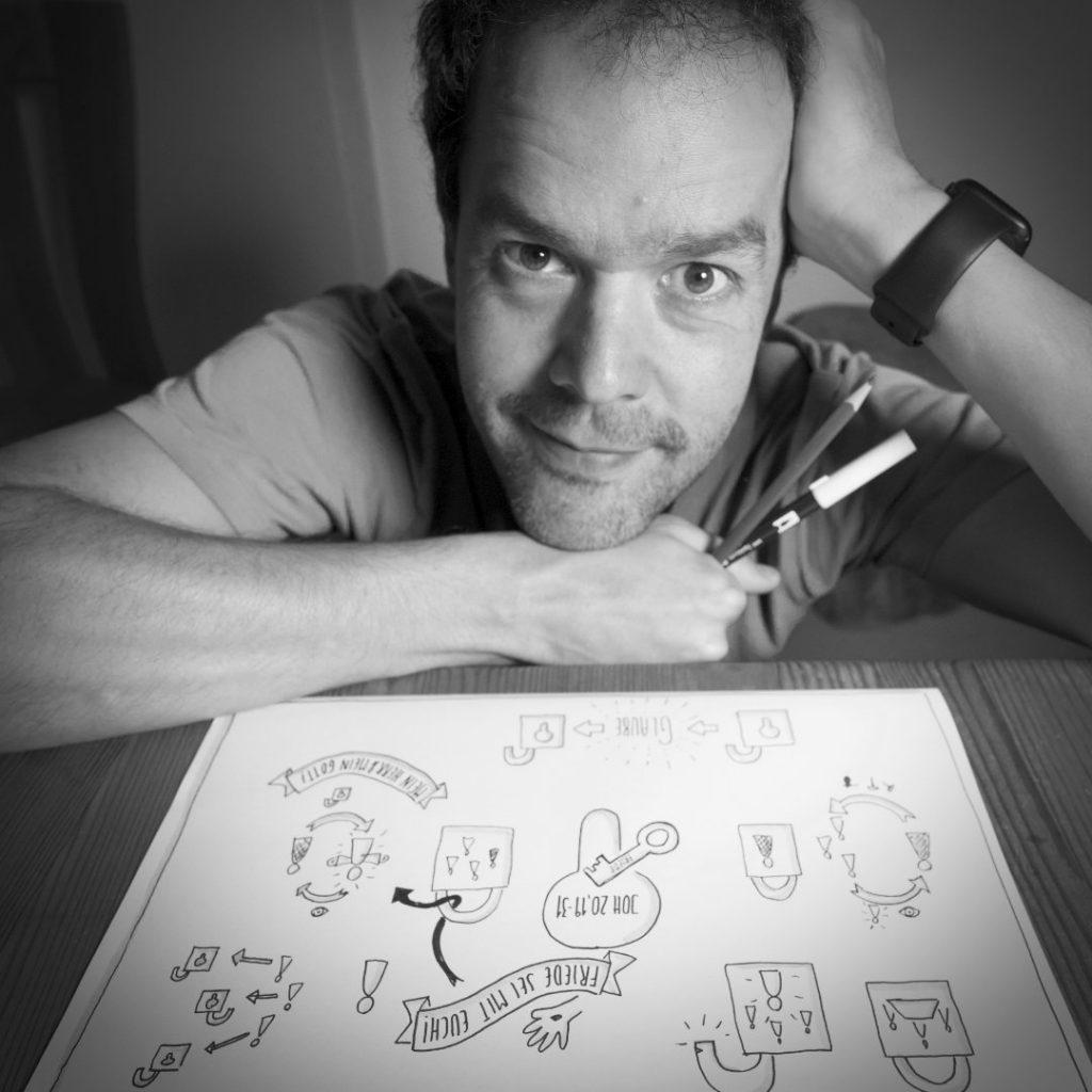 Helmut Jansen, Theologe, Supervisor, Initiator Sketch-Bibel